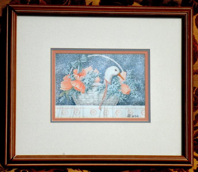 Pastel Colored Lithograph by Lolli Avita.  859/1950.  <b>$35</b>