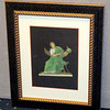 <i>Roman Art - Instructor</i> Fine Art Print in Elegant Frame.  Professionally framed and matted.   18 1/2 x 22 1/2.  <b>$60</b>