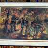 'Gypsy Dance' Hand Signed by Artist Barbara Hess Mercier.  34 x 25.  <b>$65</b>