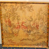 French Provincial Framed Tapestry Art.  26 x 27.  <b>$85</b>