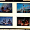U. S. Ships of of '76 Framed Art.  21 x 17.  <b>$40</b>