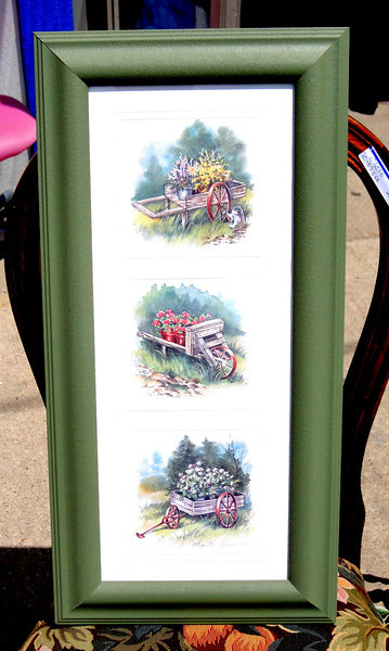 Beautiful Water Color Serialized Print by Signed By Peggy Thatch Sibley 1997.  <b>$60</b>