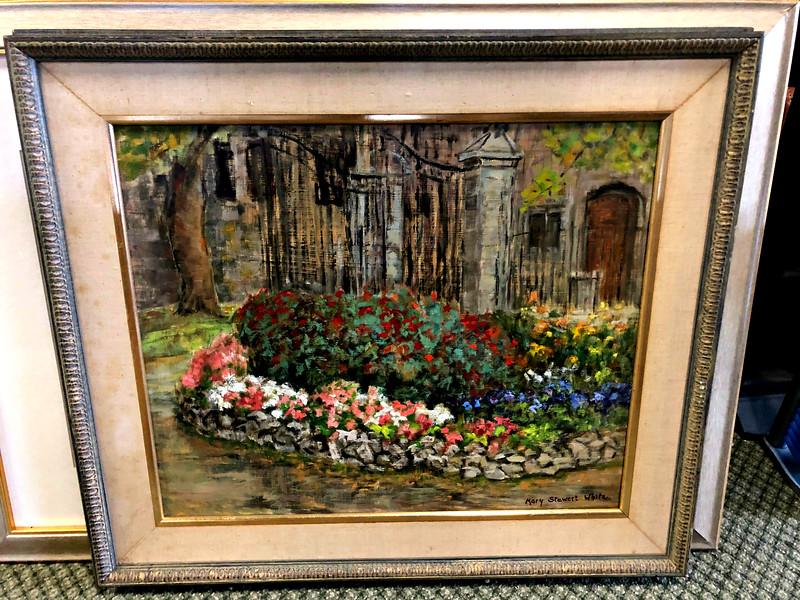 Garden Gated Entry Original Oil