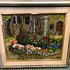 Garden Gated Entry Original Oil