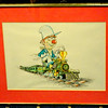 Classic Locomotive Cartoon Print by Blake B. Bradley.  <b>$40</b>
