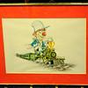 Classic Locomotive Cartoon Print by Blake B. Bradley.  <b>$40</b>