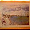 Regatta at Sainte-Addresse by Claude Monet.  22 x 17. <b> $25</b>