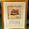 Original Bracha Guy Framed Art