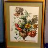 Floral Still Life in Frame.  21 x 27.  <b>$45</b>