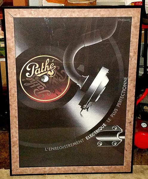 Pathe L'Enregistrement Electrique Perfectionne Poster
