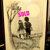 Vintage Michael Wolff Signed Framed Pencil Sketch Boy and Girl Holding Hands.  25 x 37.  <b>$65</b>