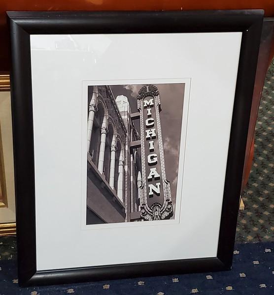 Michigan Theater Framed Art