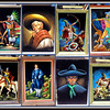 "Collection of Dramatic Mexican Art / Aztec Warrior Art - Oil on Black Velvet.  Framed, unframed; others with frame and attached accent light.  Legendary Aztec Warrior <i>Popocatepetl</i> is featured in some. <i>Popocatepetl and Iztaccihuatl</i> in another.  Check out the Art Section of our website to learn details and pricing for these newly arrived pieces.  Click  <a href=""http://www.fredsuniquefurniture.com/Finishing-Touches/Art/11155123_BVWr9k#!i=4205627145&k=wvVCSFt"" target=""_blank"" rel=""nofollow""><b><font color=""#0000FF"">here</a> </font></b> to get started."