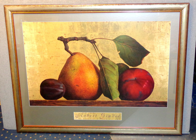 <i>Robert Ginder ~ O. K. Harris Works of Art</i> Large Fine Art Print in Elegant Frame.  Professionally framed and matted.  This will look terrific in even the finest of homes.    53 x 41.   <b>$195</b>