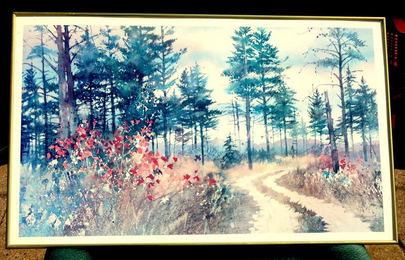Nature Trail.  21 x 35.  <b>$30</b>