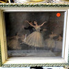 Beautiful Prima Ballerina in Performance Framed Art. Classic Degas reproduction. 16 x 14.  <b>$45</b>