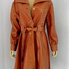Attractive Bottom Line Ladies Leather Coat.   Size 20 1/2.  <b></b>