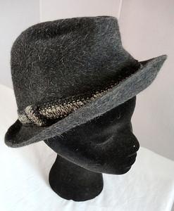 Gray Ladies Hat.