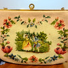 Vintage 1940's Christine's Custom Bags, Detroit, Michigan Needlepoint Handbag.  <b>$95</b>