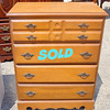 Super Budget Solid Wood Chest of Drawers.  30 x 17 x 39.  <b>$65</b>