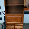 Super Budget Wood Bookcase Cabinet.  <b>$75</b>