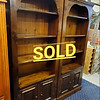Walnut Solid Wood Bookcases