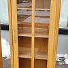 Teak Glass Door Display Cabinet