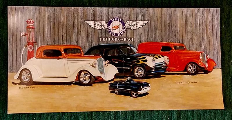 D & D Auto Body Hot Rod Garage