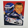 Mark Martin Lithograph