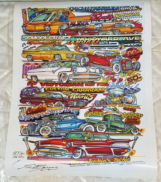 Alexander Brothers Custom Shop Tribute Poster