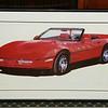 1986 Corvette Print
