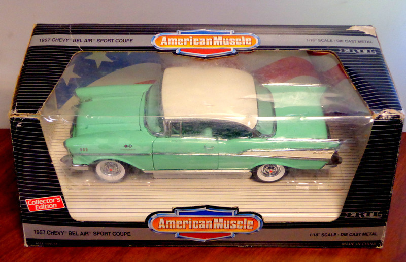 1957 Chevrolet Bel Air Model Car