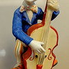 "Porcelain Clown Music Box Plays ""Send in the Clowns.""  <b>$20</b>"