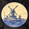 Vintage <i>Delfts Handwerk</i> 12-Inch Decorator Plate.  Made in Holland.  <b>$15</b>