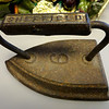 Vintage Sheffield Iron. 6 x 4 x 5.  <b>$25</b>