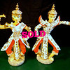 Unique Kathi Urbach Ucagco Ceramics Japanese Figurines.  7 x 4 x 11.  <b>$85 for the set.</b>
