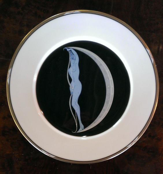 <i>Mikasa Erte - The Alphabet </i> Fine Bone China Collector Plate.  12 1/2 inch dinner plates.