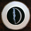 <i>Mikasa Erte - The Alphabet </i> Fine Bone China Collector Plate.  12 1/2 inch dinner plates.