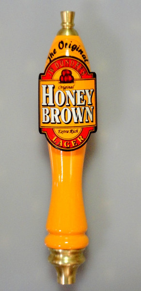 Rare Highly Collectible Honey Brown Lager Beer Tap in Excellent Condition.  <b>$50</b>