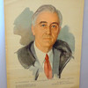 Rare ~ FDR - <i>The Unfinished Portrait </i>by Elizabeth Shoumatoff 1st Edition 1945.  10 x 13.  <b>$85</b>