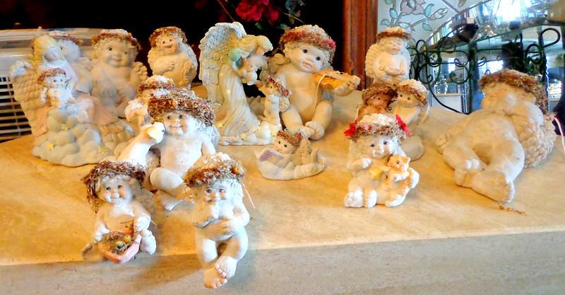 Assortment of Collectible Cherubs.  Sold Separately.  <b>Make a Fair Offer.</b>