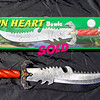 Rare Frost Cutlery <i>Lion Heart</i> Fantasy Bowie Knife.  22 x 5.  <b>$75</b>