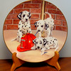 "Firehouse Frolic Plate Dalmations ~ Linda Picken ~ Princeton Gallery.  Firehouse Frolic Dalmations Plate dated 1992 from the Princeton Gallery. Plate number JJ0752. It is in new condition with no issues of any kind. Plate is 8"" in diameter.  <b>$20</b>"