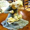 Alabaster Mother & Child by G. Ruggeri.  9 x 5 x 7.  <b>$50</b>