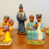 Remarkable Set of 5  K's Collection African Collector's Figurines.