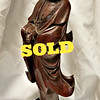 Antique Oriental Carved Figure