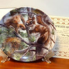 "1987 Knowles The Squirrel Collector's Plate.  Keith Daniel.  Plate # 12357A.  From the Encyclopedia Brittanica's ""Bird's in Your Garden Collection.""  In original packaging with Certificate of Authenticity.  <b>$35</b>"