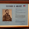 Ulysses S. Grant Tribute Framed Commemorative.  Features several exerpts from of Lieutenant General Ulysses S. Grant's famous Civil War correspondence.  15 x 12.  <b>$35</b>