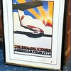 Autographed Rolling Stones Lithograph