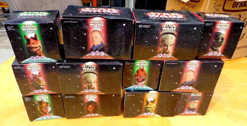 Assorted Star Wars Collectibles.  <b>Make A Fair Offer.</b>